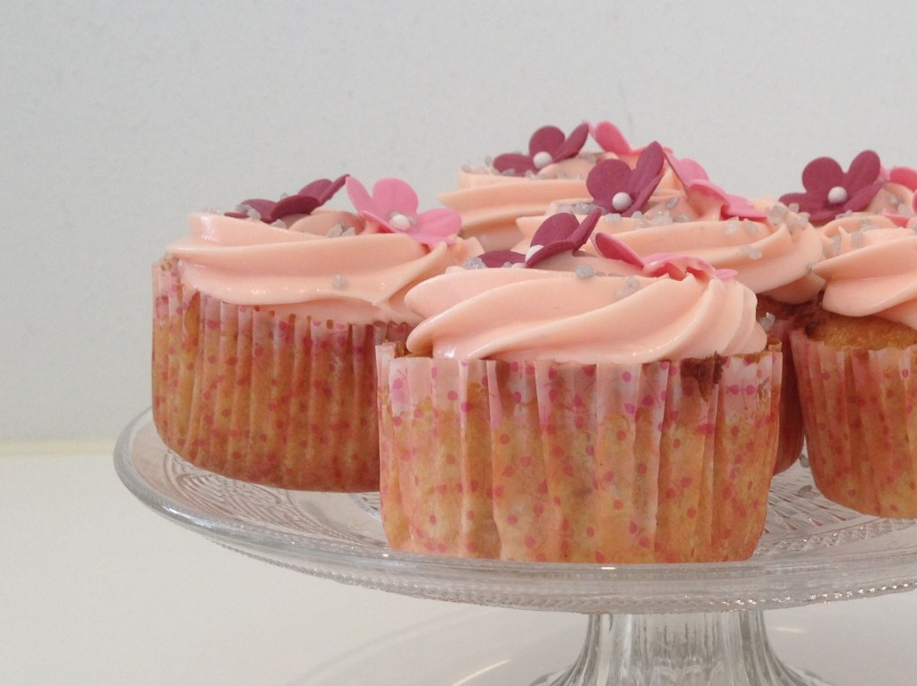 Rabarber cupcakes1