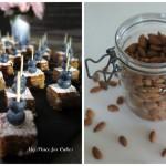 Konfektkage med hvid chokolade og lakrids