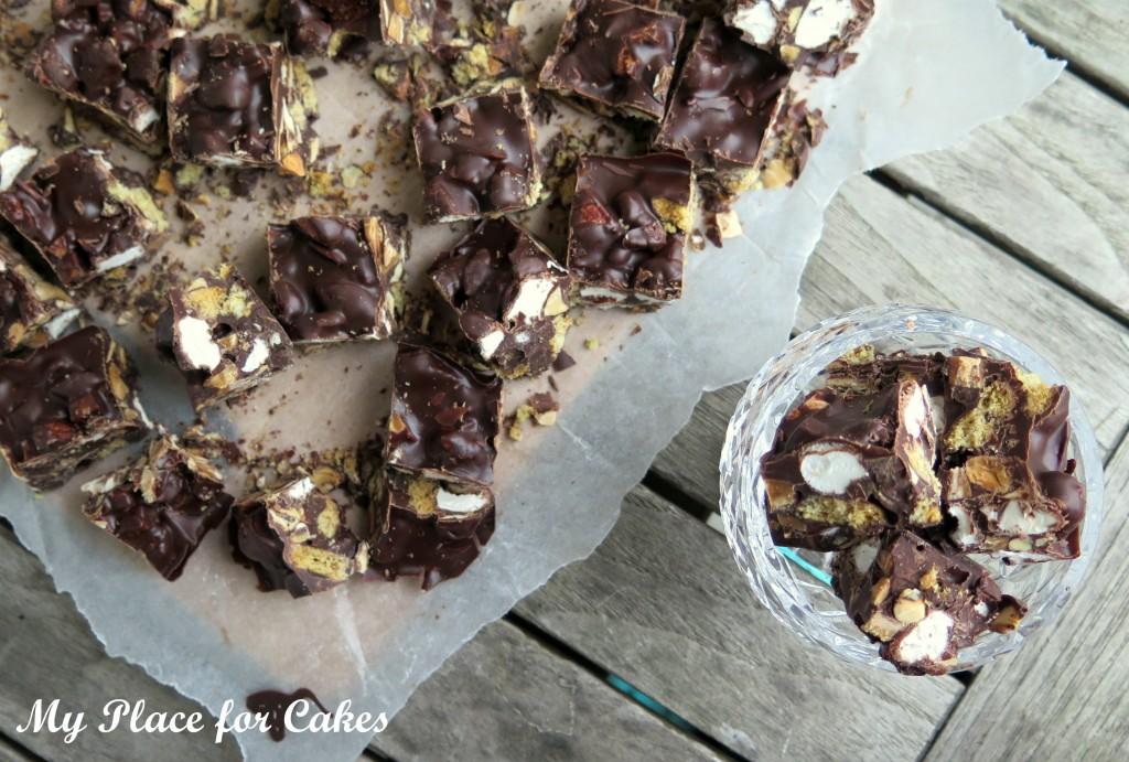 rocky road chokoladebrud