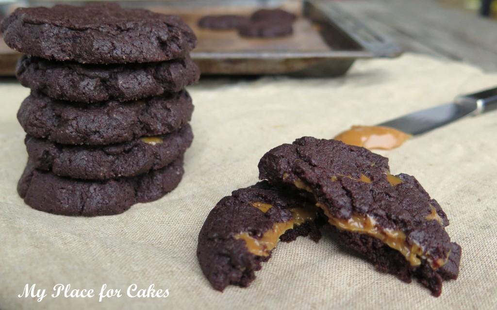 cookies med dulce de leche