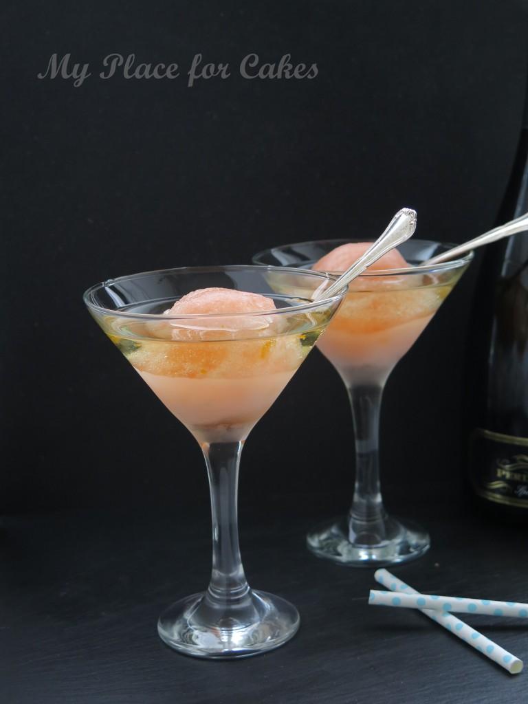 frozen apperol spritz float