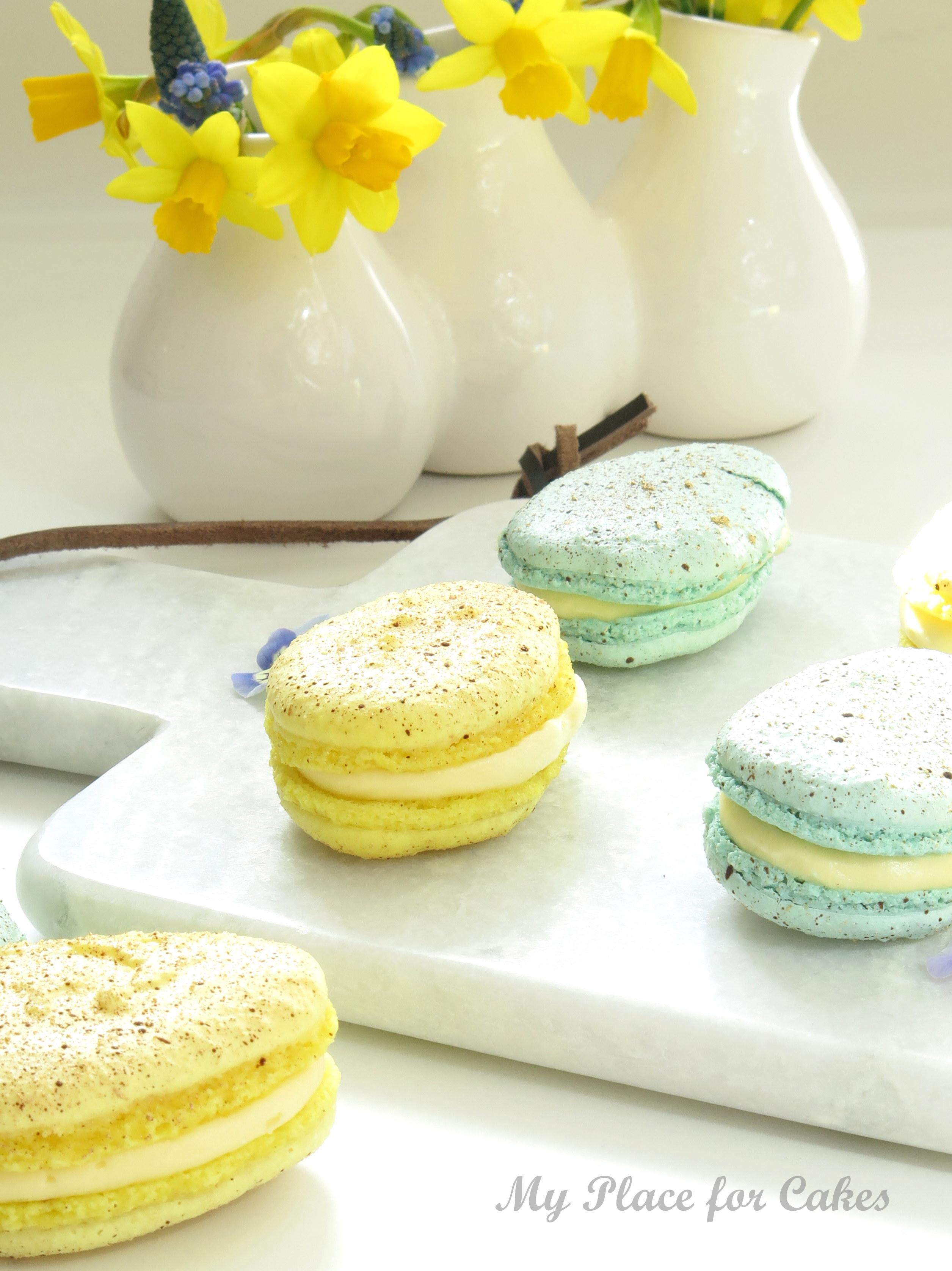 påske macarons