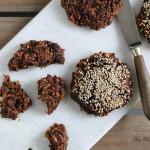 Rugbrødsboller med chokolade
