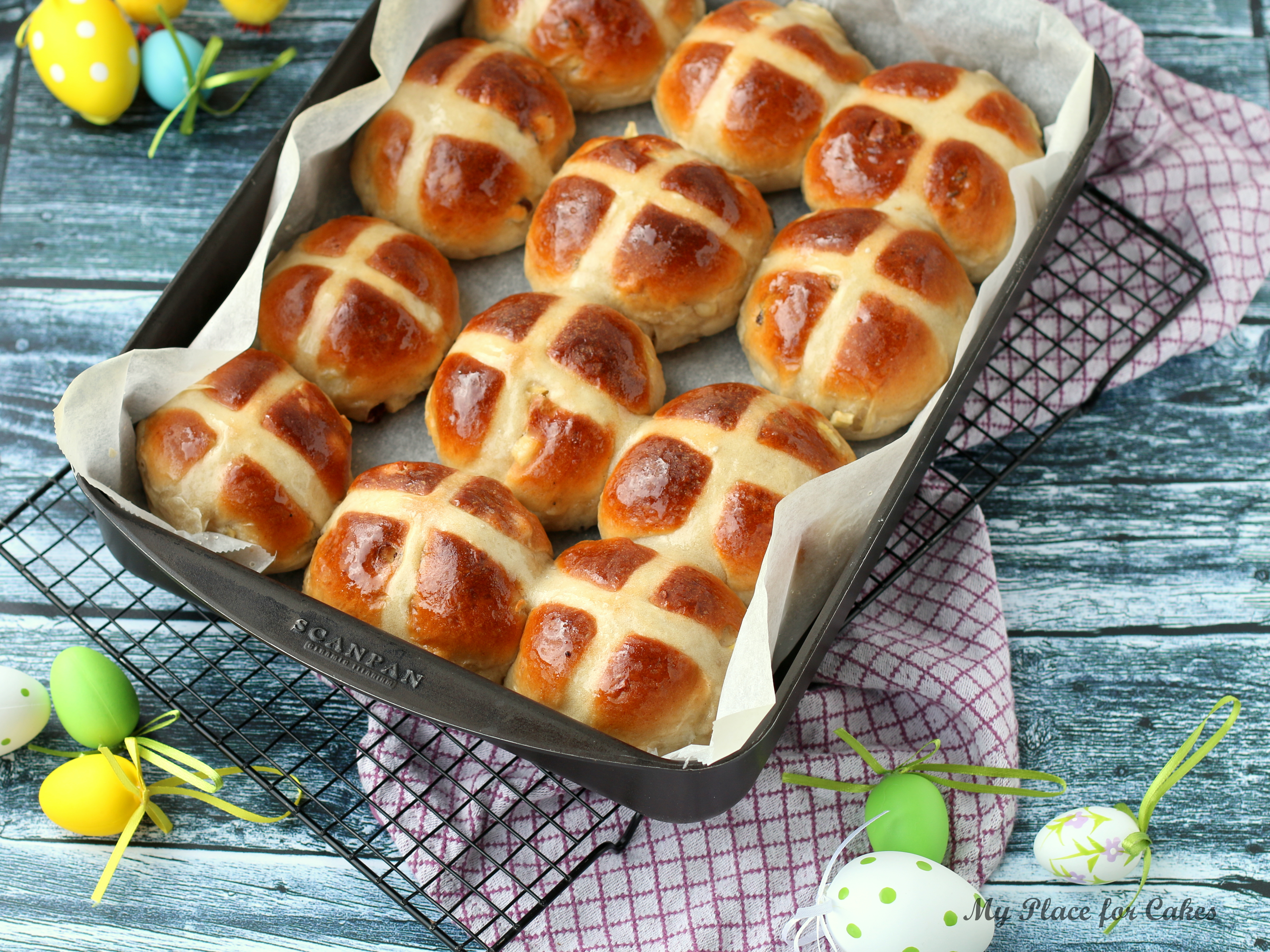 Hot cross buns - påske