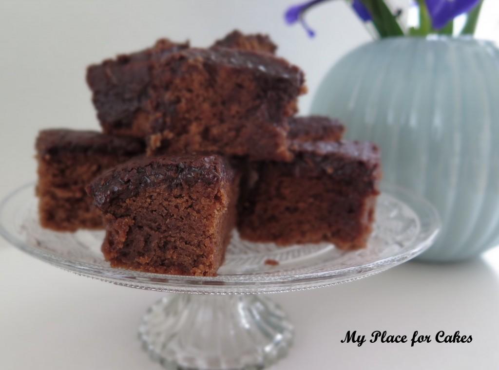 chokoladekage med kokosglasur1